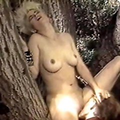 Out in the cold woods this couple enjoys some wild sex adventure. See...